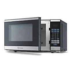 Westinghouse 0.7 Cu. Ft. Countertop Microwave, Black/Silver