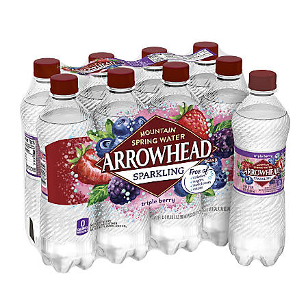 Nestlé® Waters Sparkling Spring Water, Triple Berry, 16.9 Oz, Pack Of 8 Bottles