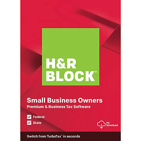 H&R Block® 2019, Premium & Business, For PC, Download
