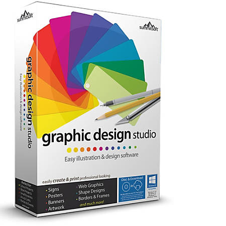Graphic Design Studio, Download Version