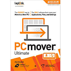 Laplink PCmover Ultimate Traditional Disc