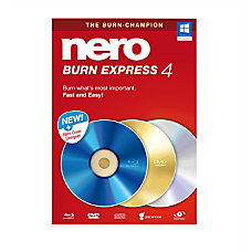 Nero Burn Express 4 Traditional Disc