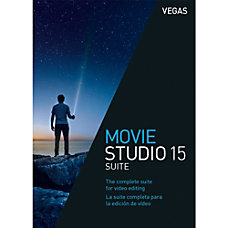 VEGAS Movie Studio 15 Suite Download