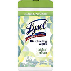 Lysol Designer Tub Disinfecting Wipes Wipe