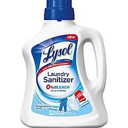 Lysol Crisp Linen Laundry Sanitizer Liquid
