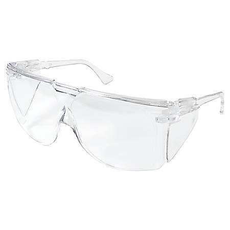 3M Tour Guard III Safety Glasses, Clear Frame/Lens