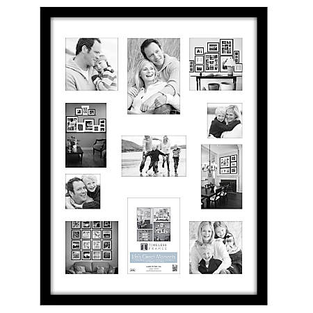 "Timeless Frames® Life's Great Moments® Frame, 18"" x 24"", Black"