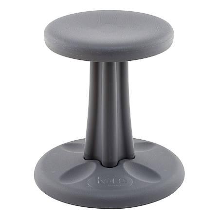 """Kore Kids Wobble Chair, 14""""H, Dark Gray"""