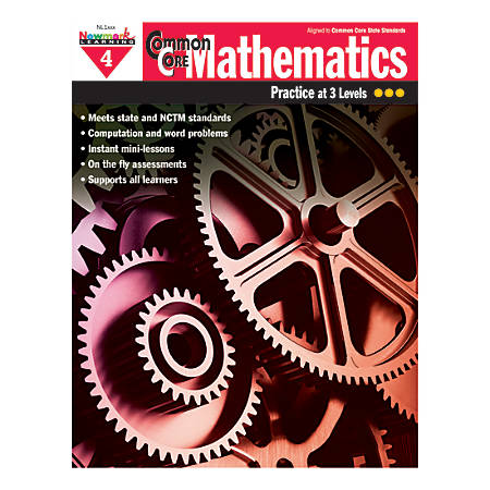 Newmark Learning Common Core Mathematics Book, Grade 4
