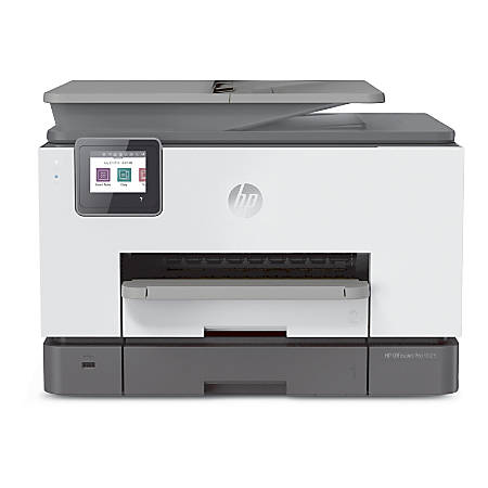HP OfficeJet Pro 9025 Wireless Color Inkjet All-in-One Printer, Copier, Scanner, Fax, 1MR66A#B1H