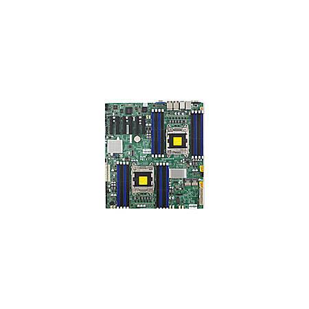 Supermicro X9DRD-7LN4F Server Motherboard - Intel Chipset - Socket R LGA-2011 - 512 GB DDR3 SDRAM Maximum RAM - DDR3-1600/PC3-12800, DDR3-1333/PC3-10600, DDR3-1066/PC3-8500, DDR3-800/PC3-6400 - 16 x Memory Slots - Gigabit Ethernet - 5 x RJ-45 - 6 x SATA