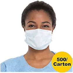 Kimberly Clark Blue Procedure Masks Latex