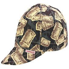 Deep Round Crown Caps Size 8