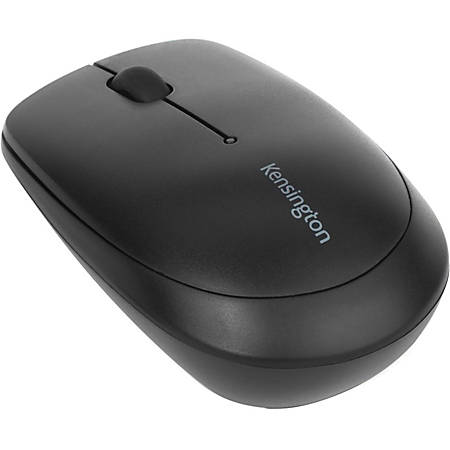 Kensington Pro Fit Bluetooth Mobile Mouse - Laser - Wireless - Bluetooth - Black - 1000 dpi - Chromebook, Ultrabook - Scroll Wheel - 2 Button(s) - Symmetrical