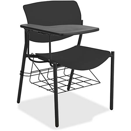 Amazing Lorell Classroom Student Combo Desk Tablet Arm Black Item 9793111 Alphanode Cool Chair Designs And Ideas Alphanodeonline