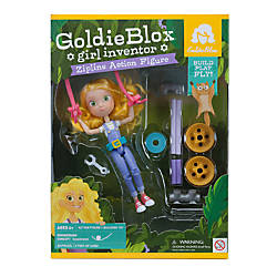 GoldieBlox Zipline Action Figure Sets Case