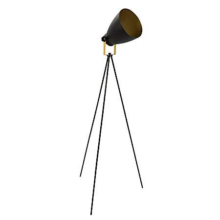 Lumisource Grammy Modern Reader Lamp, Black/Gold