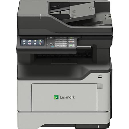 Lexmark MX420 MX421ade Laser Multifunction Printer - Monochrome - TAA Compliant