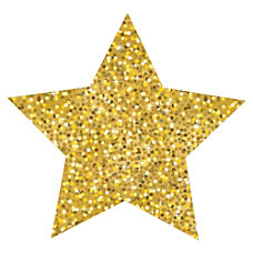 Ashley Sparkle Decorative Magnetic Star Fun
