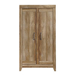 Sauder Adept Wide Wood Storage Cabinet
