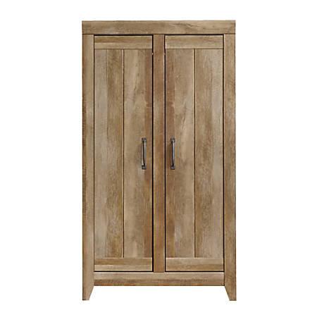 Sauder® Adept Wide Wood Storage Cabinet, Craftsman Oak