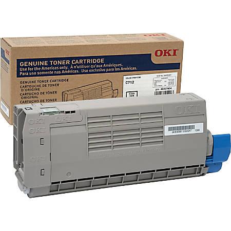 Oki Original Toner Cartridge - Black - LED - 11000 Pages - 1 Each