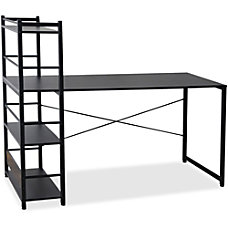 Lorell Multi Shelf Tower Computer Desk