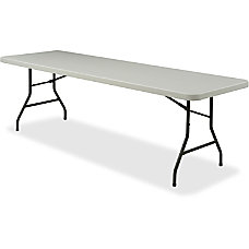 Lorell Banquet Folding Table Rectangle 8W