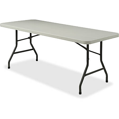 Lorell® Banquet Folding Table, Rectangle, 5'W, Gray