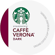 Starbucks Caff Verona Coffee Single Serve