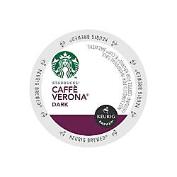 Starbucks Caffe Verona Coffee K Cups