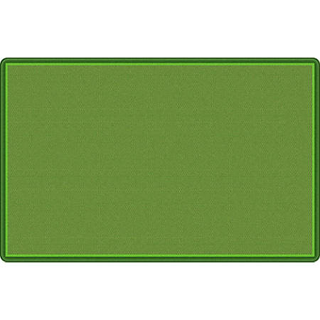 "Flagship Carpets All Over Weave Area Rug, 10' 9"" x 13' 2"", Green"