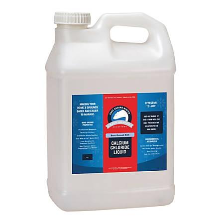 Bare Ground Liquid De-Icer, Calcium Chloride, 2.5 Gallons