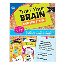 Carson Dellosa Education Train Your Brain