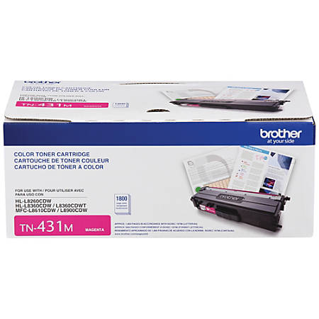 Brother® TN431M Magenta Toner Cartridge