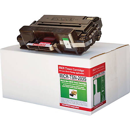 microMICR Toner Cartridge - Alternative for Samsung (MTL203S) - Black - Laser - Standard Yield - 3000 Pages - 1 Each