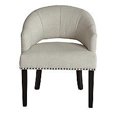 Ave Six Vivian Accent Chair LinenDark
