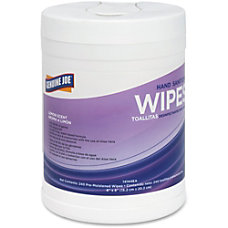 Genuine Joe Antibacterial Hand Sanitizing Wipes