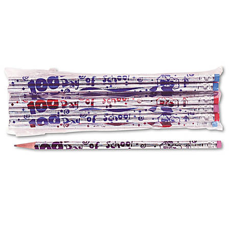 Moon Products Seasonal and Party Pencils, Silver