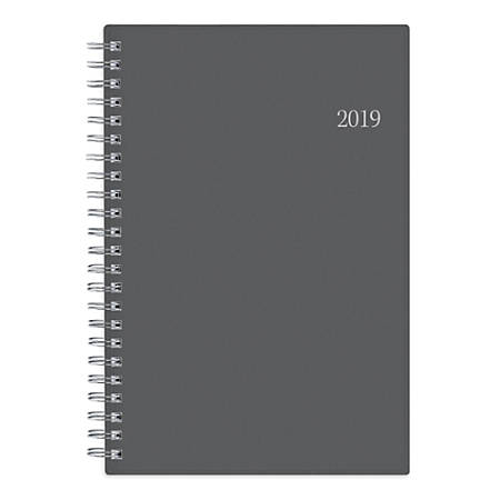 """Blue Sky™ Weekly/Monthly Planner, 8"""" x 5"""", Passages, January to December 2019"""