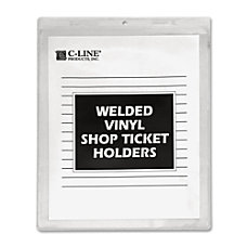 C Line Vinyl Shop Seal Ticket