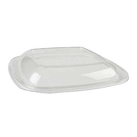 """Green Collection Food Container Lids, Rectangle, 9"""" x 6"""", Clear, Pack Of 300 Lids"""