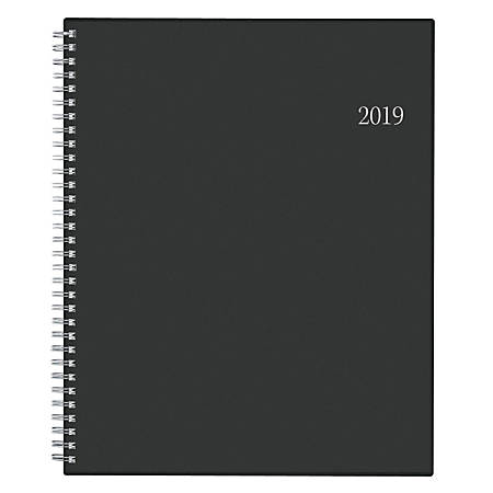 """Blue Sky™ Weekly/Monthly Planner, 11"""" x 8 1/2"""", Barcelona, January to December 2019"""