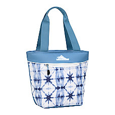 High Sierra Lunch Tote Indigo DyeMineralWhite