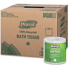 Marcal 100percent Recycled Bathroom Tissue 2