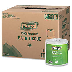 Marcal 100percent Recycled Soft Absorbent Bathroom