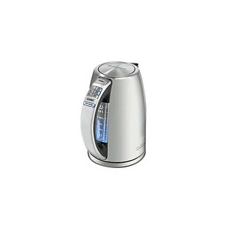 Cuisinart® PerfecTemp™ Cordless Electric Teakettle, Silver