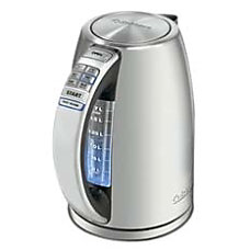 Cuisinart PerfecTemp Cordless Electric Teakettle Silver