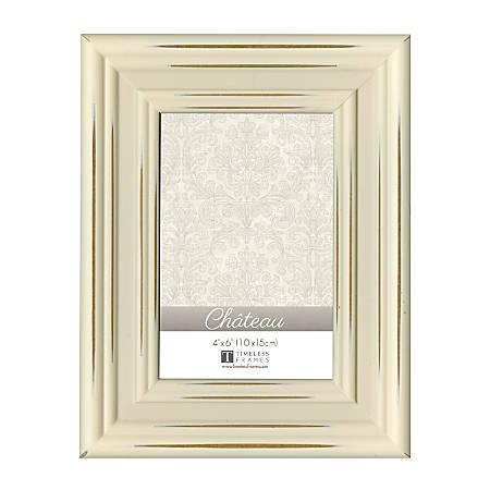 "Timeless Frames® Chateau Frame, 4"" x 6"", Cream"