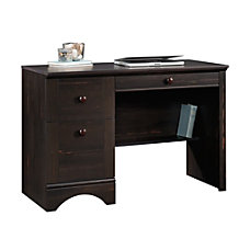 Sauder Harbor View Computer Desk Antiqued